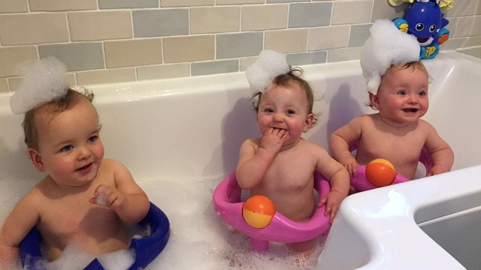 Three Babies. What to Expect in the Early Days with Triplets